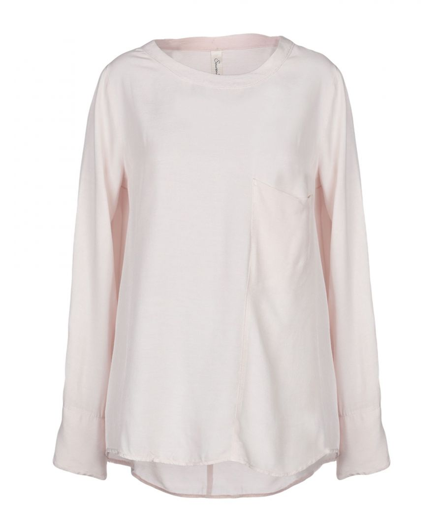 Image for Souvenir Pink Long Sleeve Blouse