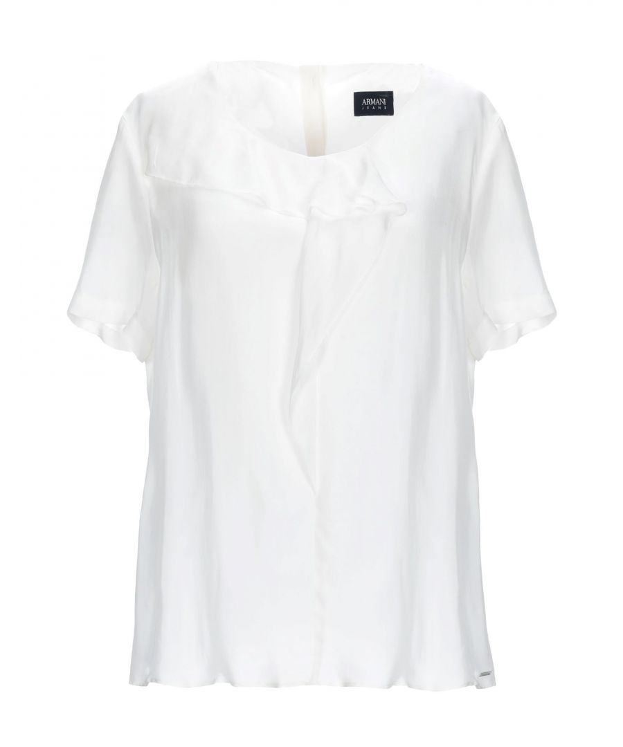 Image for Armani Jeans Ivory T-Shirt