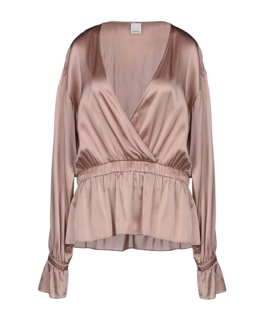 Image for Pinko Woman Blouses Copper Silk