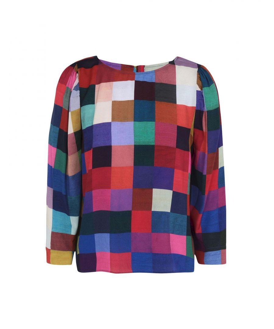 Image for Ps Paul Smith Multicolour Crepe Blouse