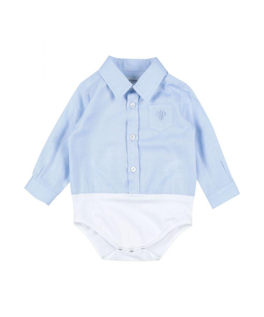 Image for SHIRTS Boy I Pinco Pallino Sky blue Cotton