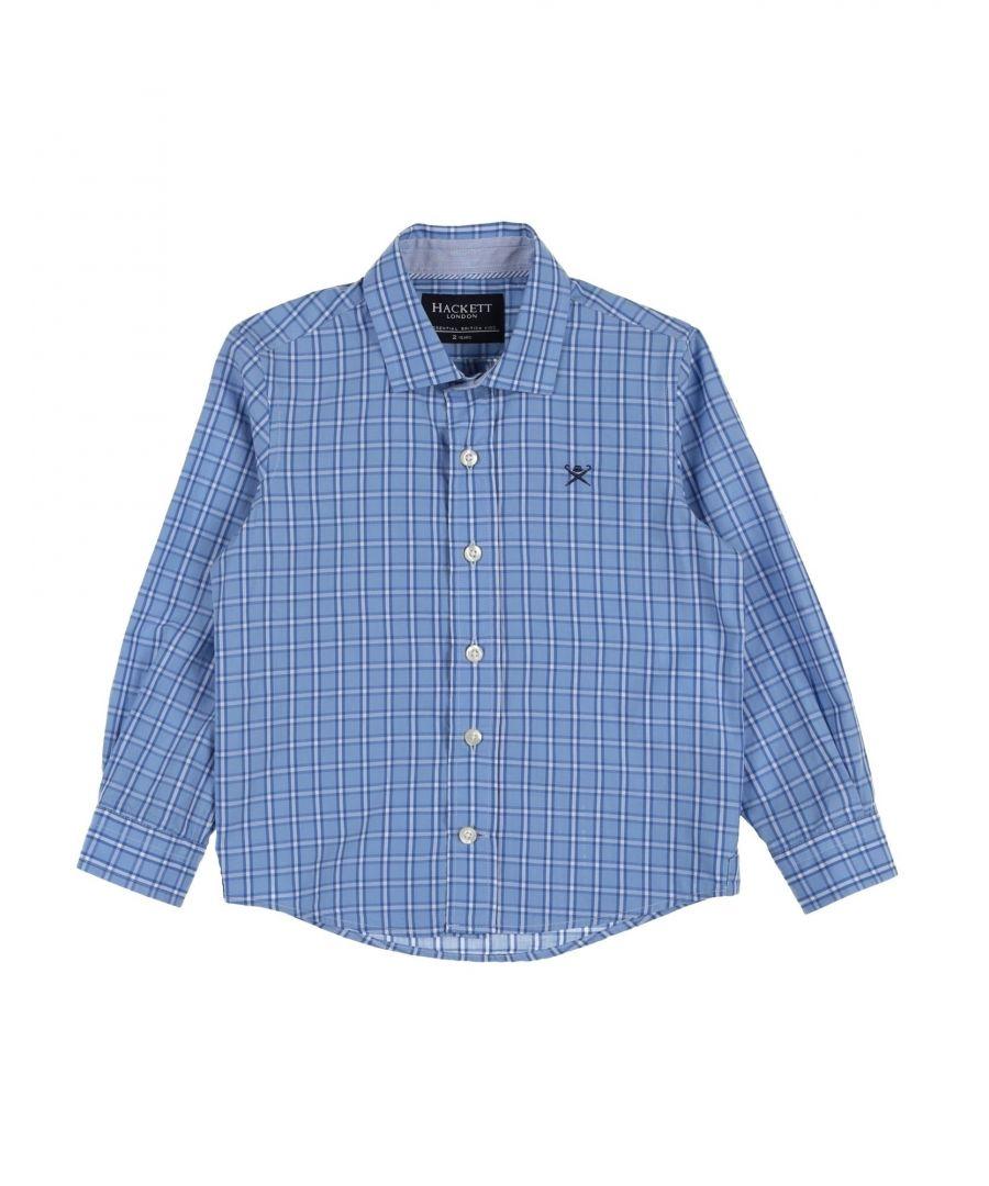 Image for SHIRTS Boy Hackett Sky blue Cotton
