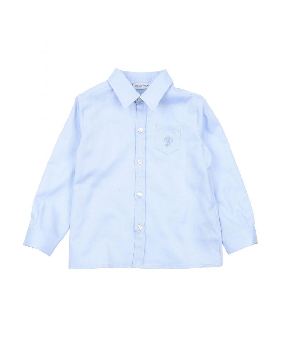 Image for SHIRTS Boy I Pinco Pallino Azure Cotton