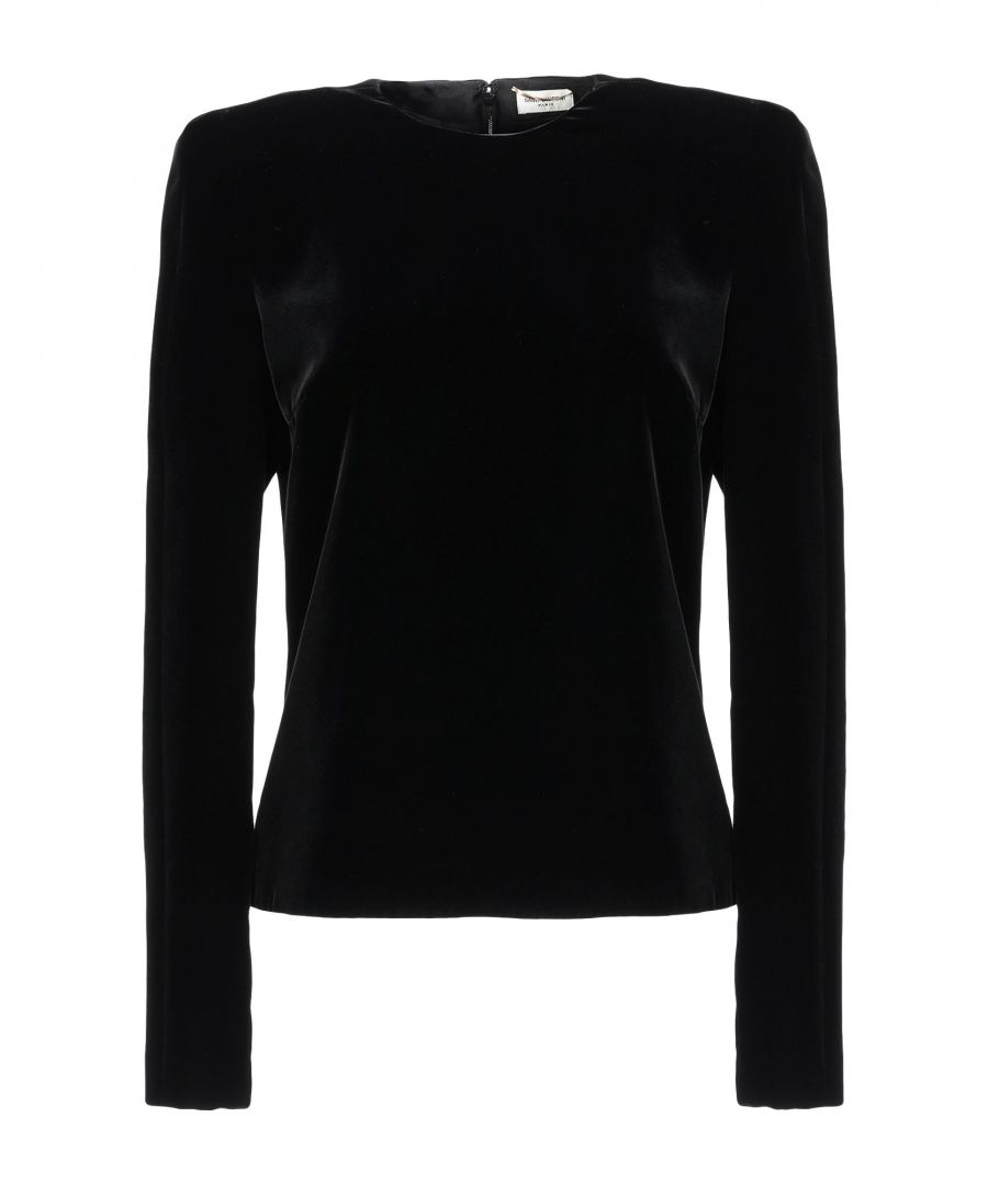 Image for SHIRTS Saint Laurent Black Woman Viscose