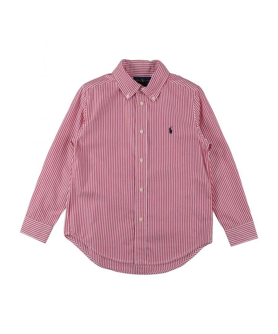 Image for SHIRTS Boy Ralph Lauren Red Cotton