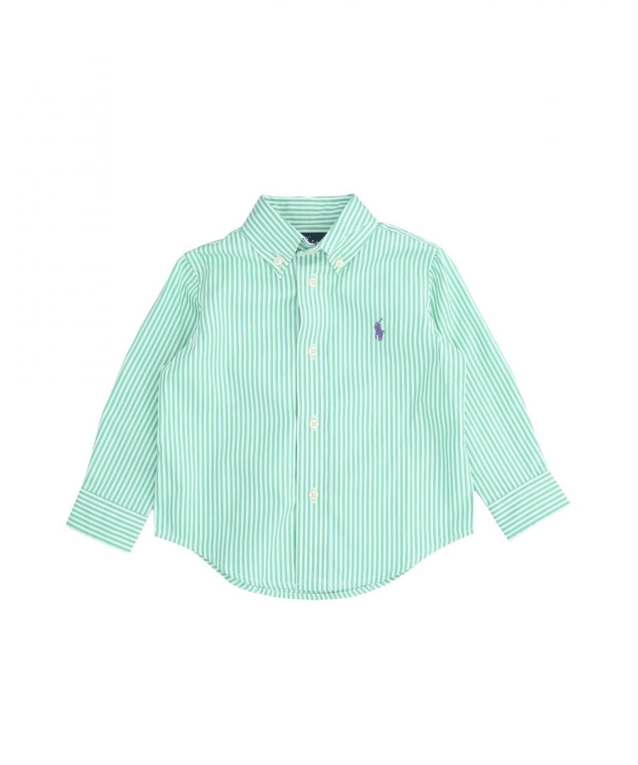 Image for SHIRTS Boy Ralph Lauren Green Cotton