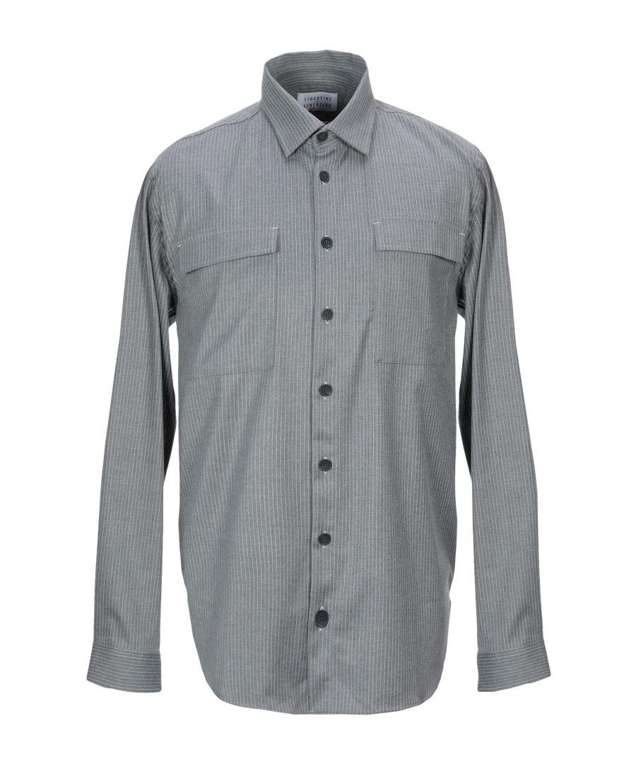 Image for Libertine-Libertine Grey Stripe Shirt