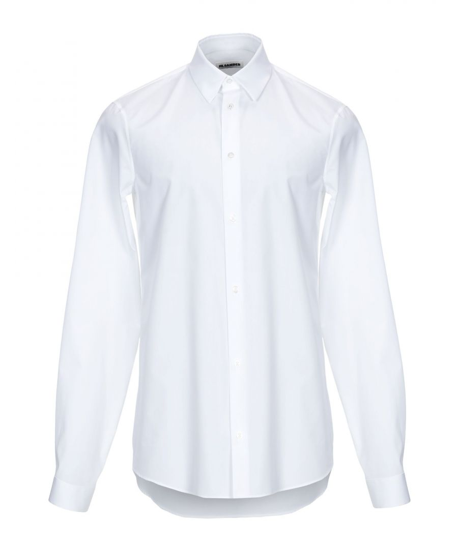 Image for Jil Sander White Cotton Shirt