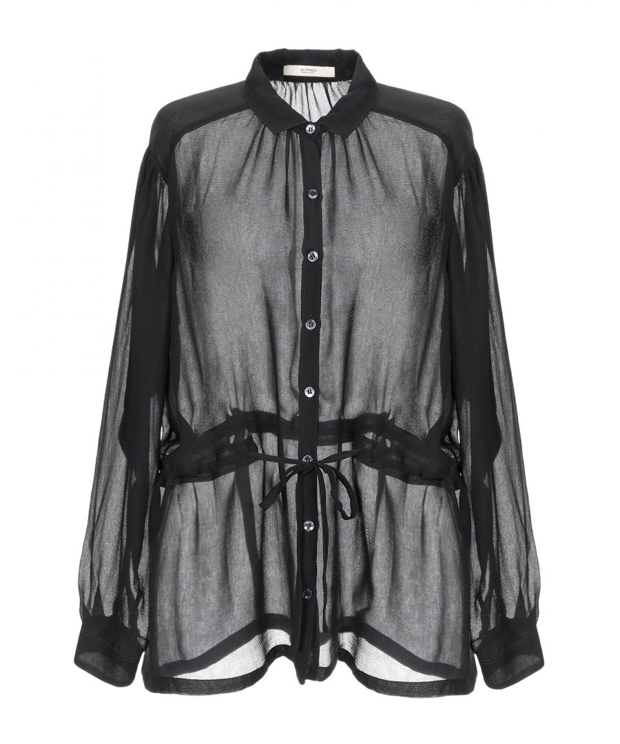 Image for Etro Black Silk Shirt