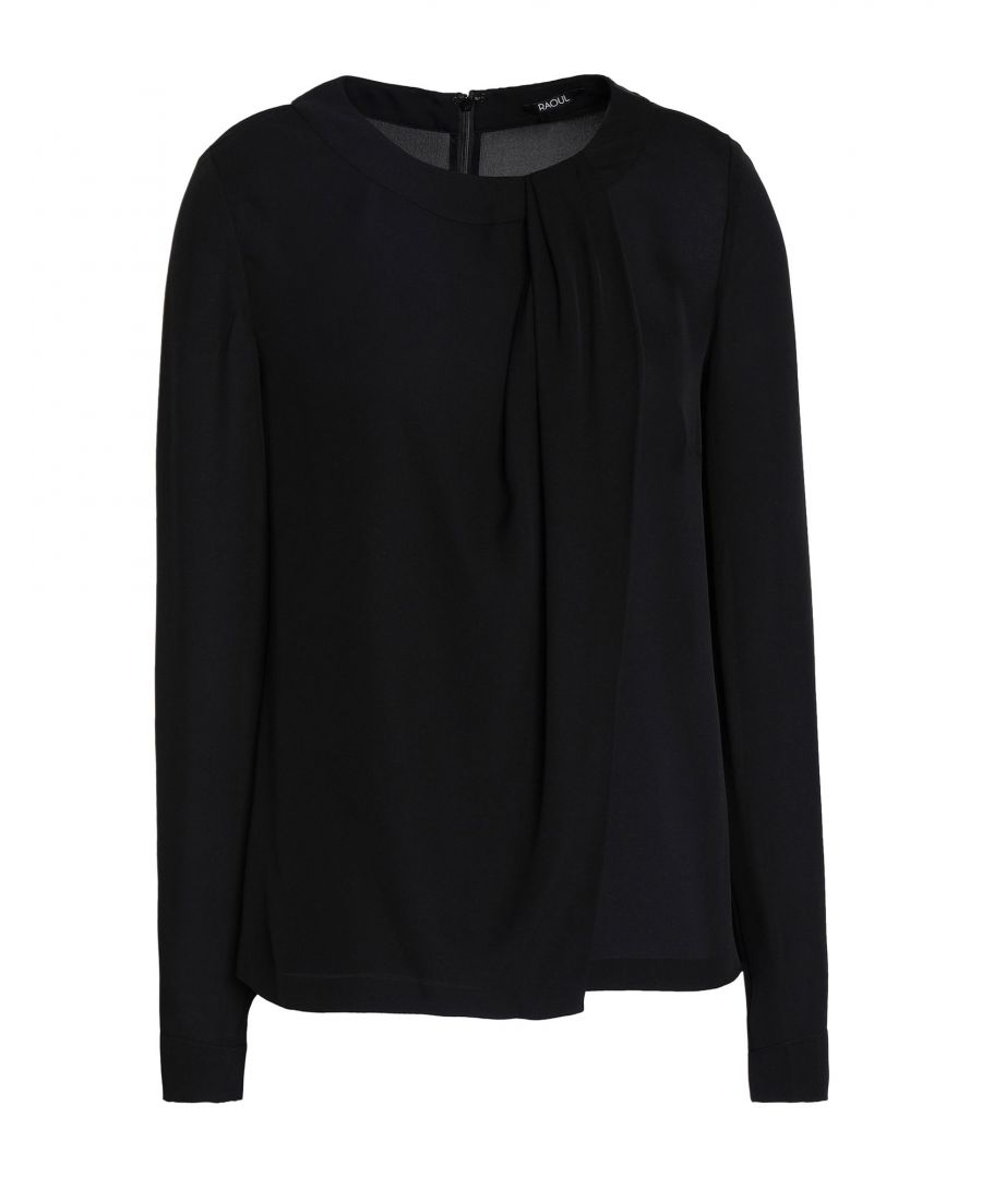 Image for Raoul Black Silk Blouse