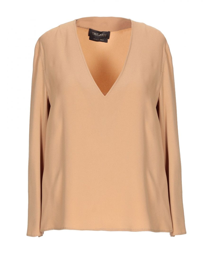 Image for SHIRTS Woman Trussardi Camel Acetate