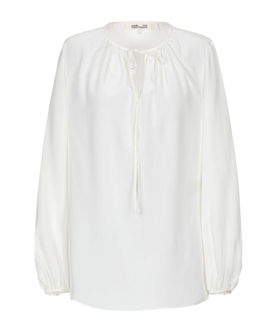 Image for Diane Von Furstenberg Ivory Silk Shirt