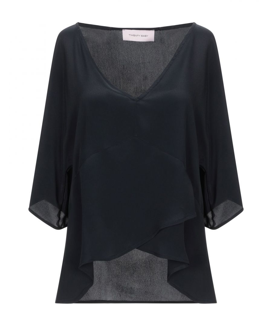 Image for Twenty Easy By Kaos Black Crepe Blouse