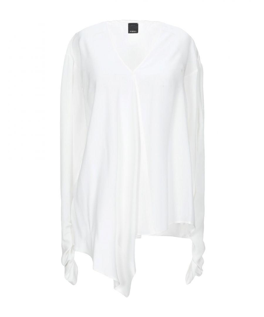 Image for Pinko White Silk Shirt