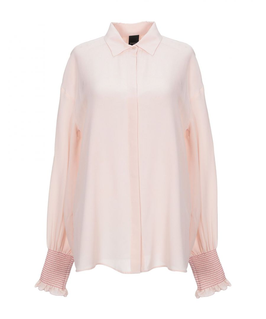 Image for Pinko Woman Shirts Light pink Silk