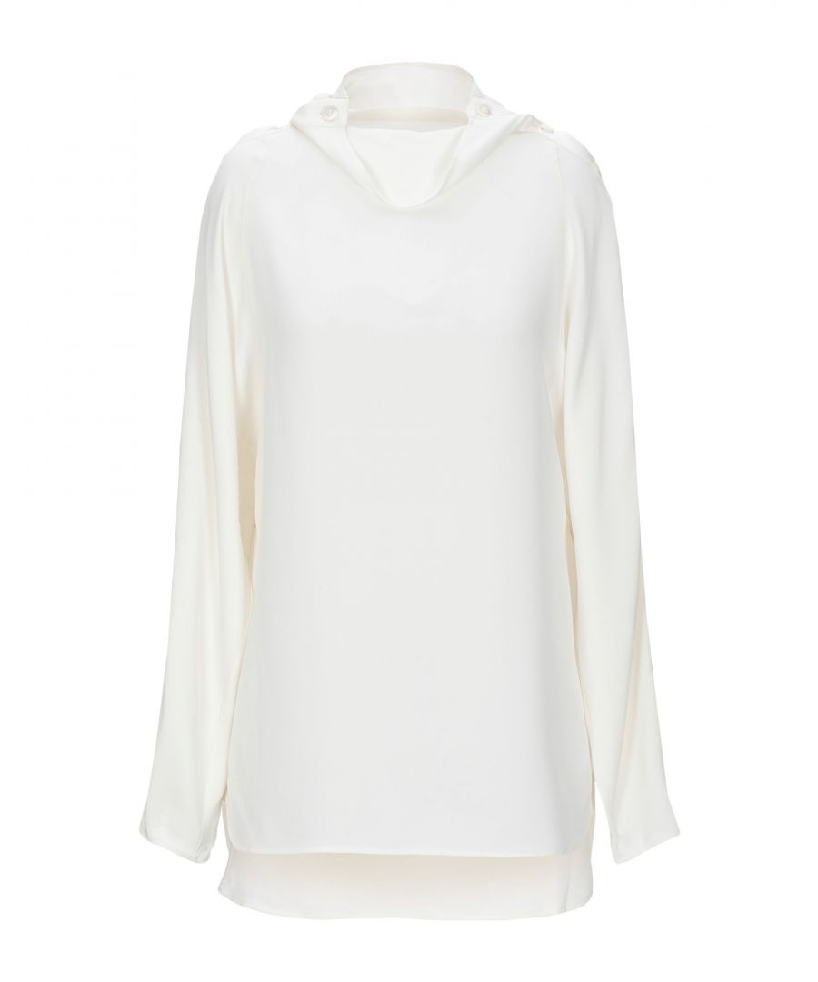 Image for SHIRTS Woman Theory Ivory Silk