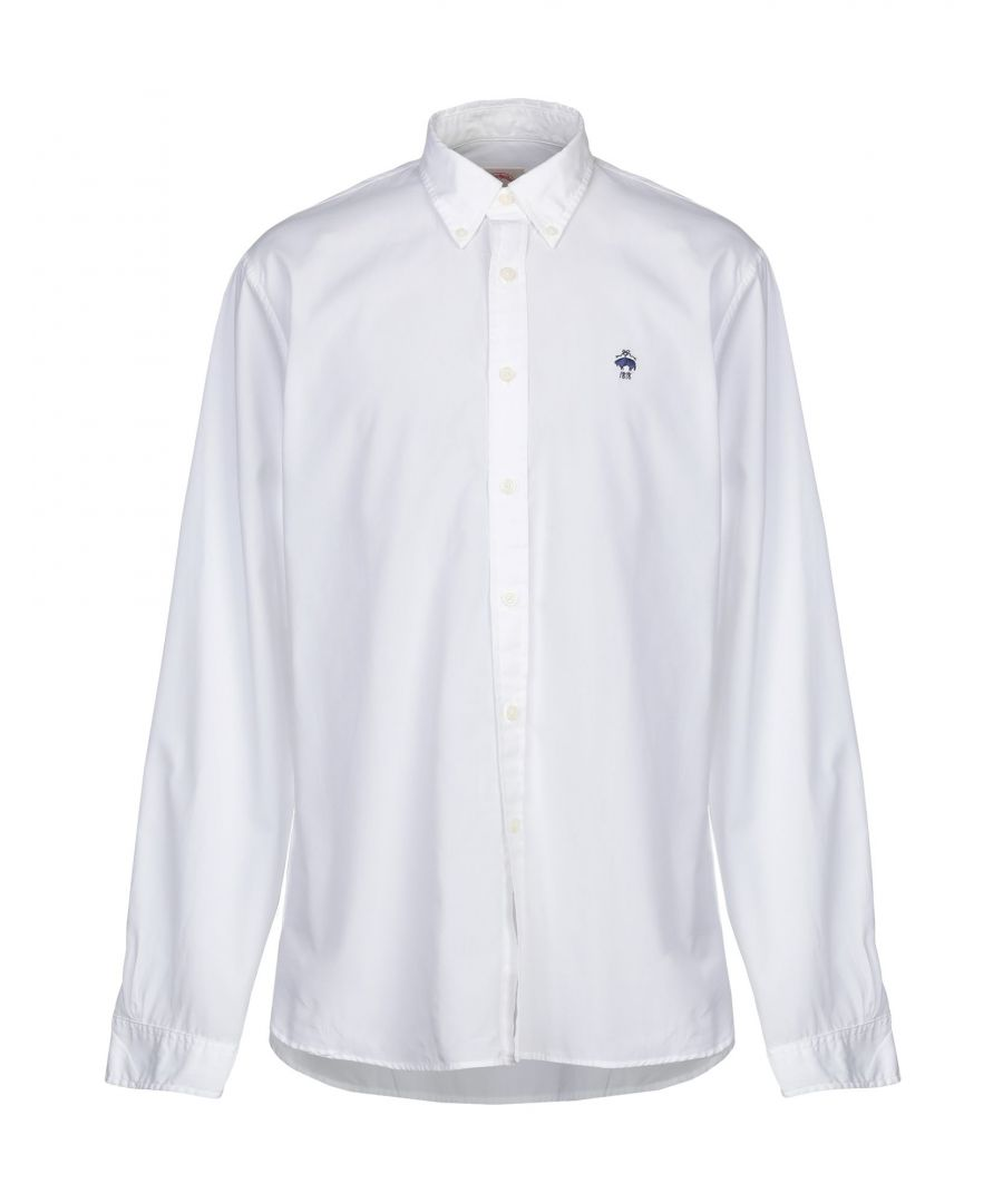 Image for Brooks Brothers White Cotton Shirt