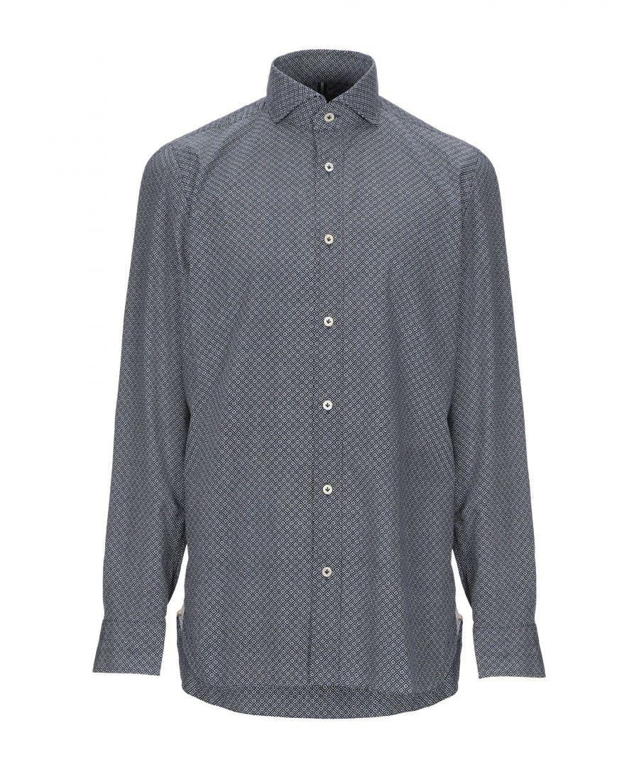 Image for Luigi Borrelli Napoli Blue Cotton Shirt