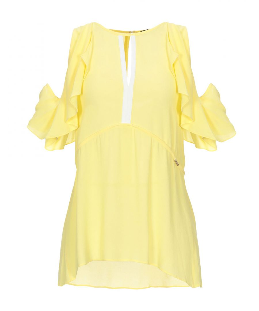 Image for Nenette Woman Blouses Yellow Viscose