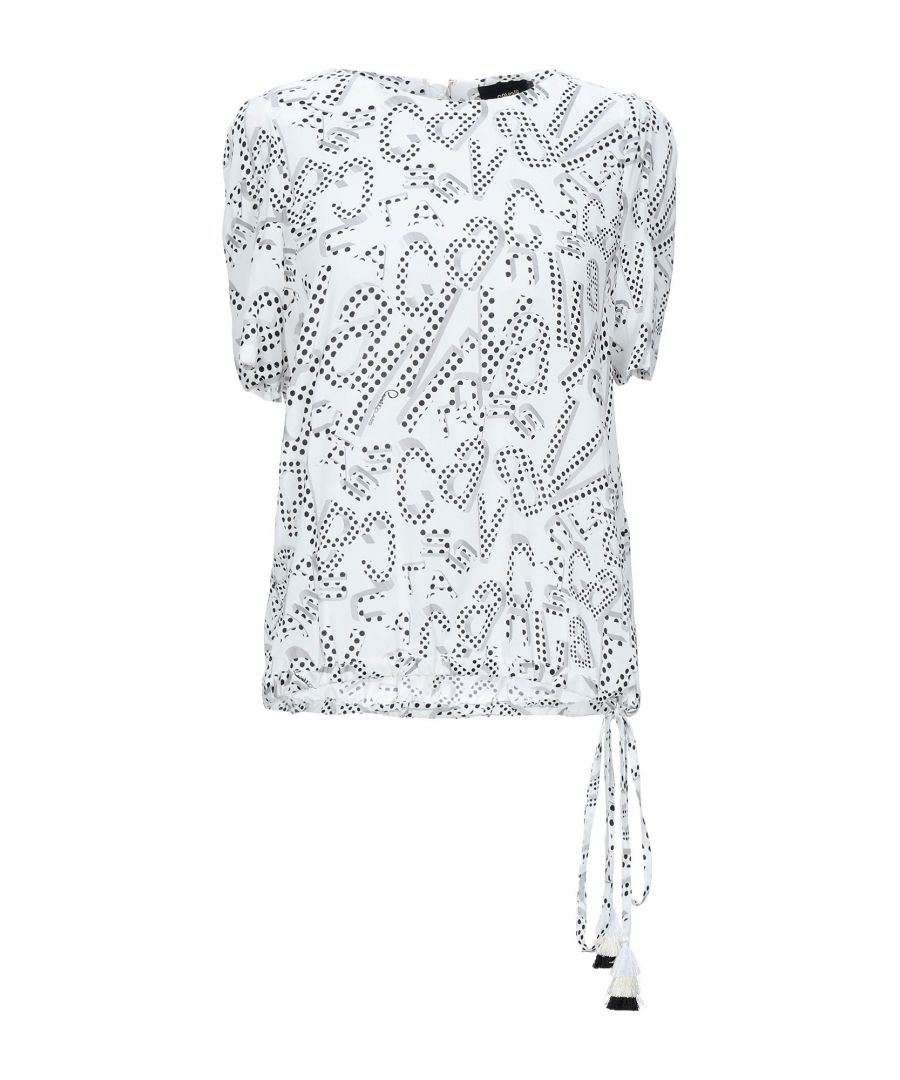 Image for Cavalli Class White Cotton Blouse
