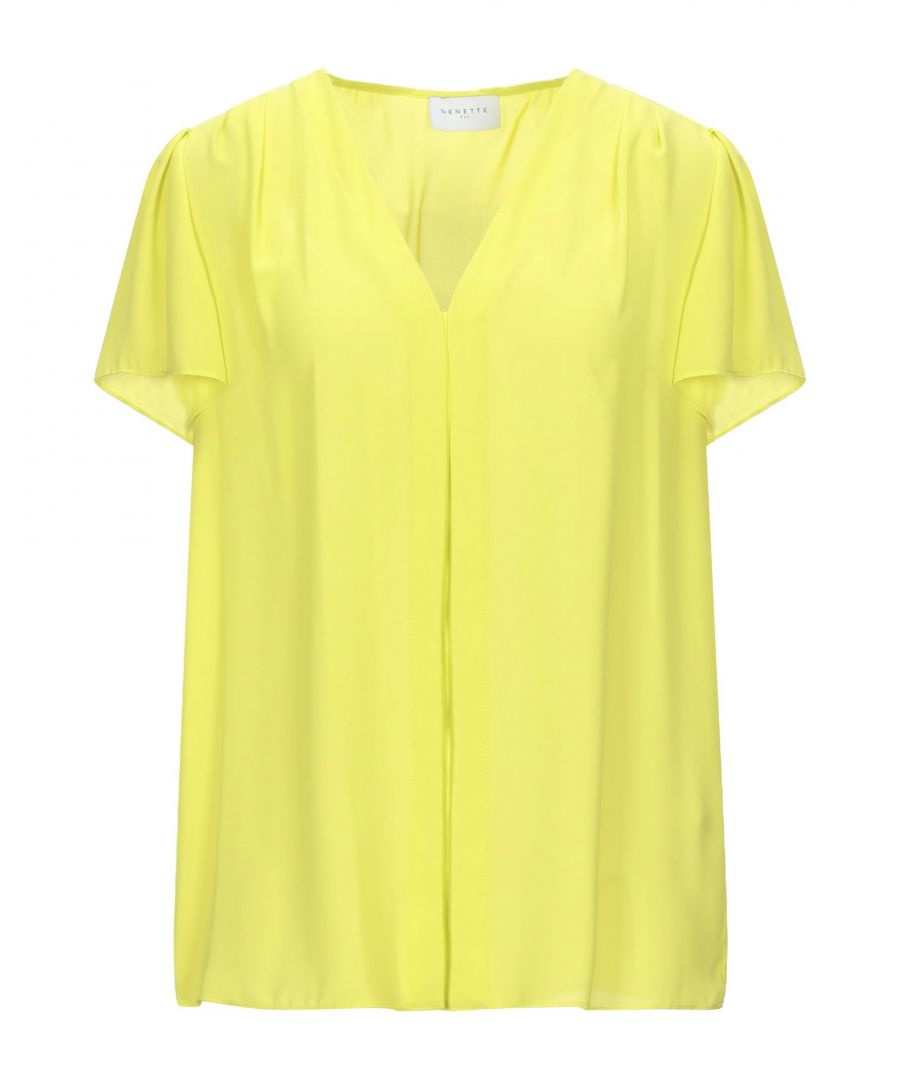 Image for Nenette Woman Blouses Yellow Polyester
