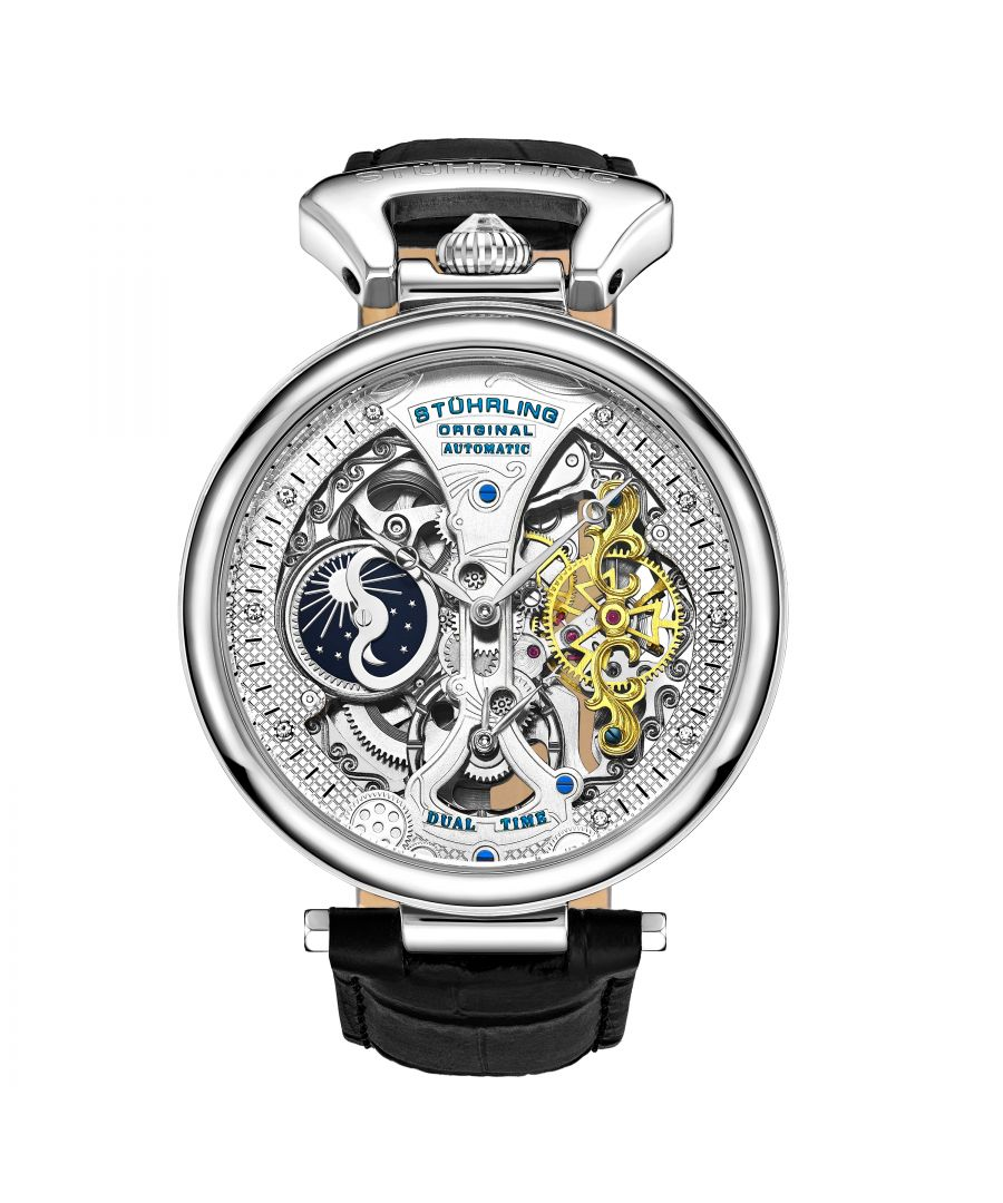 Image for Silver Emperor's Grand DT  Automatic 46mm Skeleton