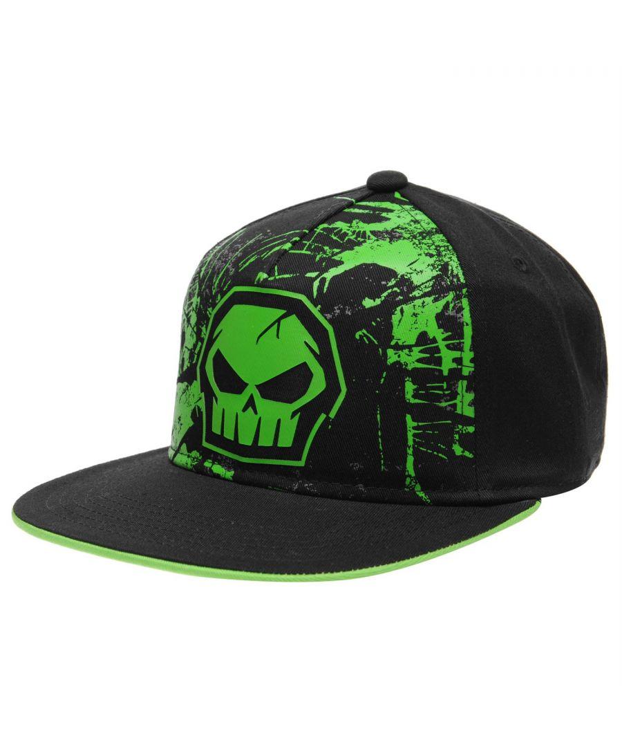 Image for No Fear Kids City Snapback Junior Flat Peak Cap Cotton Ventilation Hat