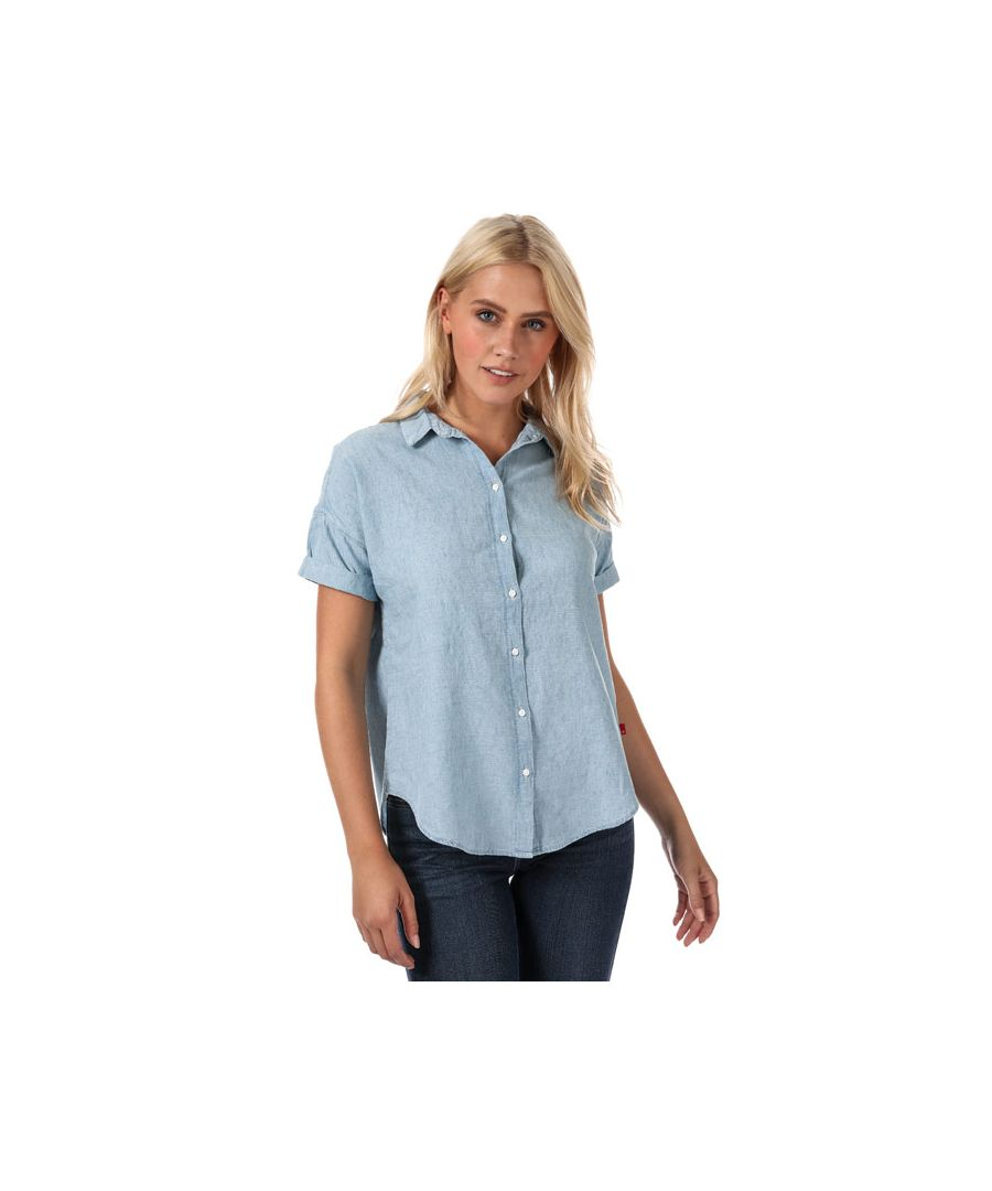 Image for Women's Levis Harper Shirt in Light Blue