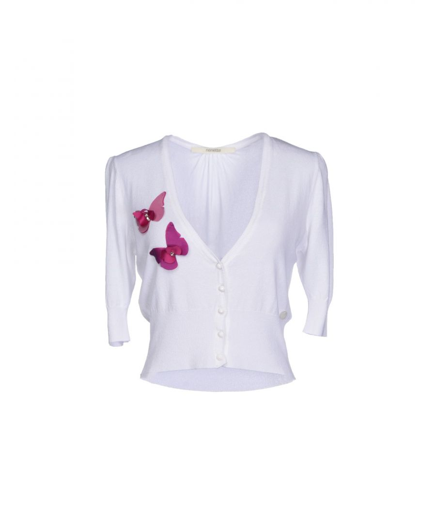 Image for Nenette Woman Wrap cardigans White Viscose