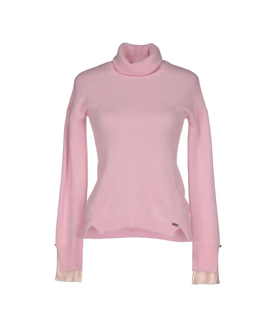 Image for Nenette Pink Wool Lightweight Knit Jumper