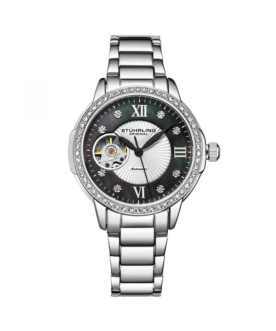 Image for Silver and Grey Perle Automatic 36mm