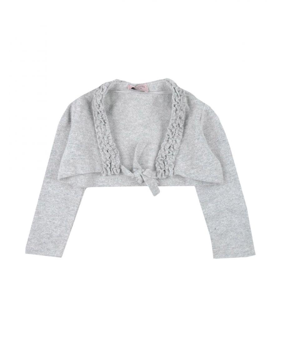 Image for Monnalisa Girl Wrap cardigans Grey Cotton