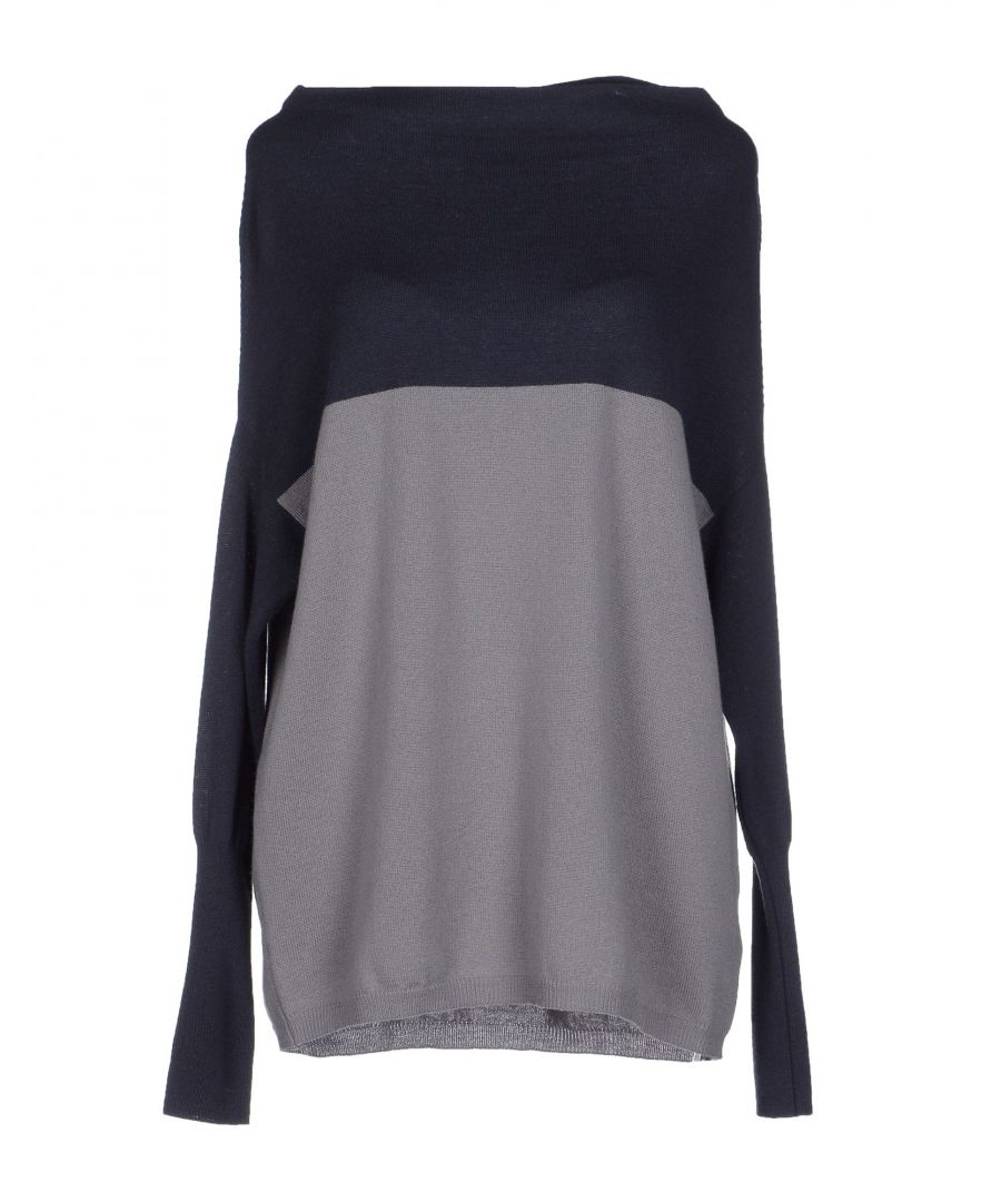 Image for Pme Peserico Dark Blue Merino Wool Knit Jumper