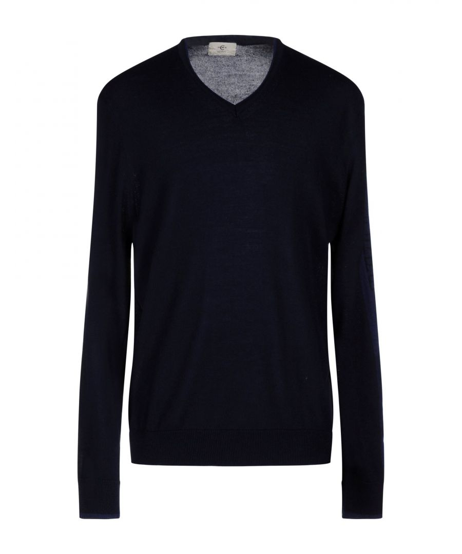 Image for Cerruti 1881 Dark Blue Lightweight Knit Jumper