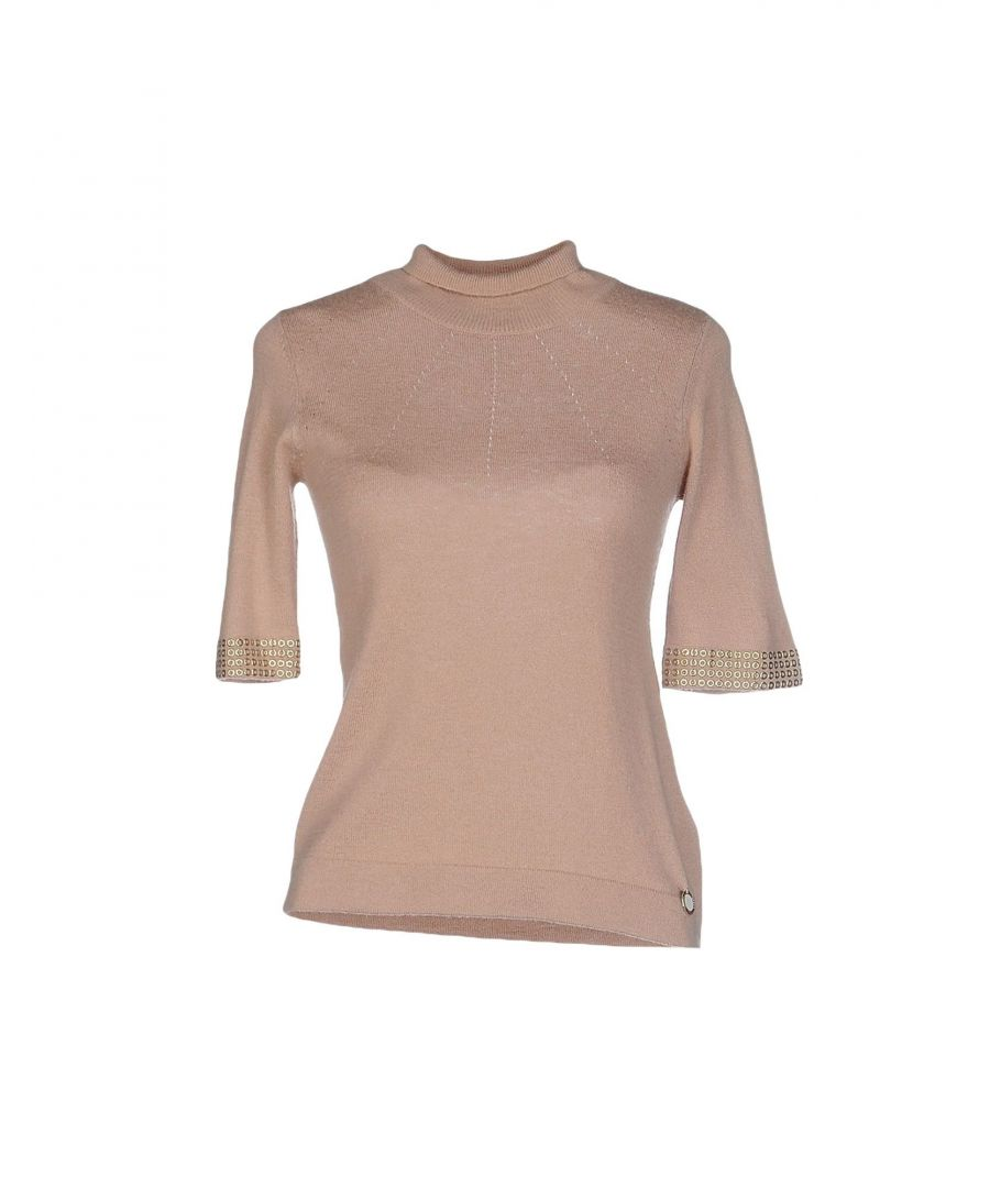 Image for Nenette Woman Turtlenecks Sand Viscose