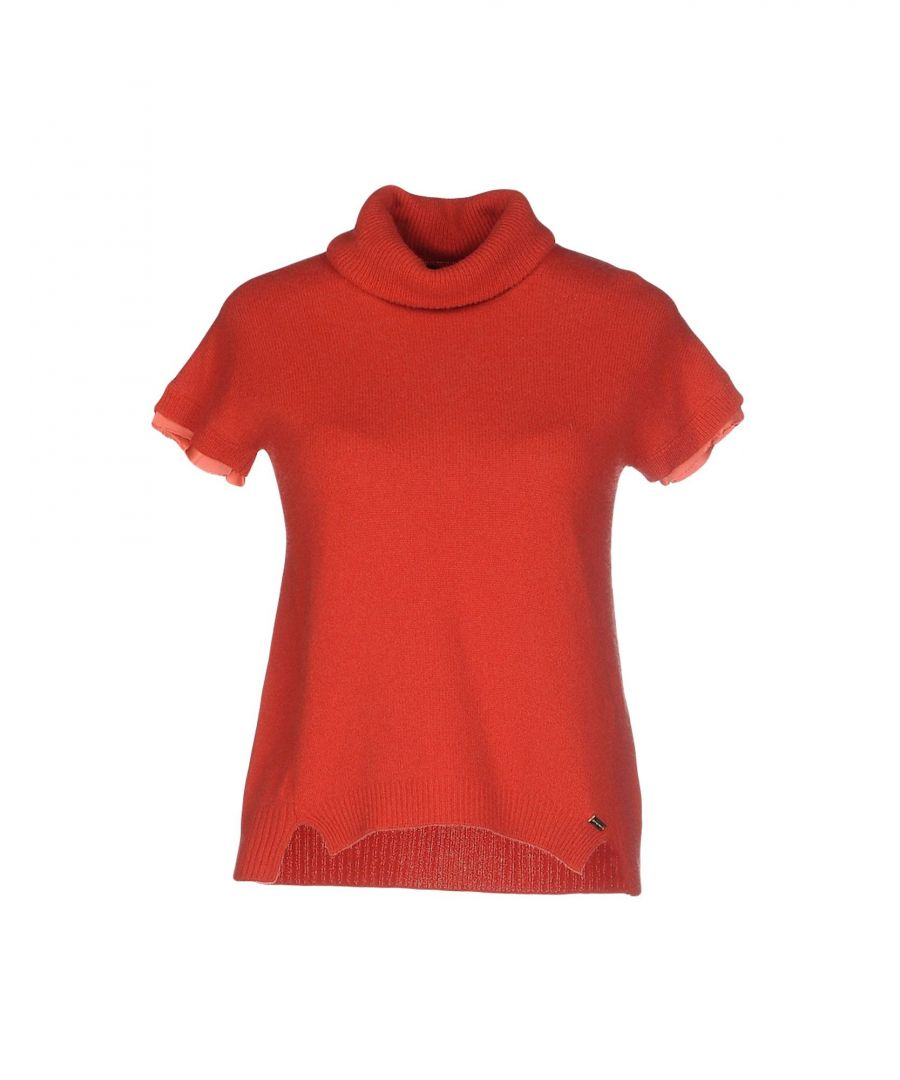 Image for Nenette Woman Turtlenecks Red Wool