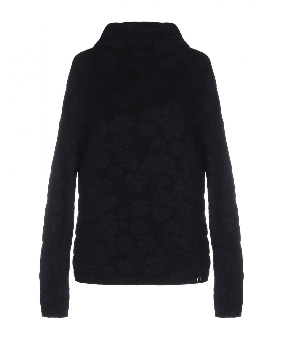 Image for Nenette Dark Blue Lightweight Knit Jumper