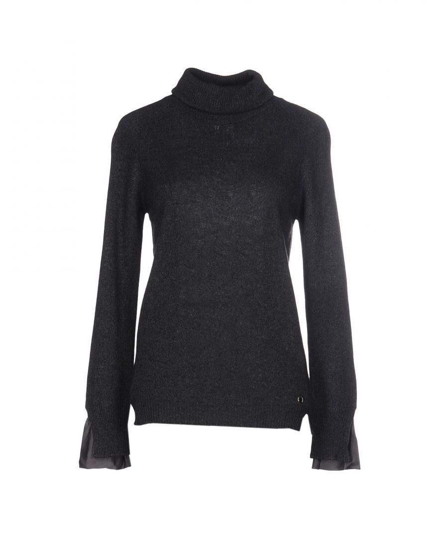 Image for Nenette Woman Turtlenecks Steel grey Wool