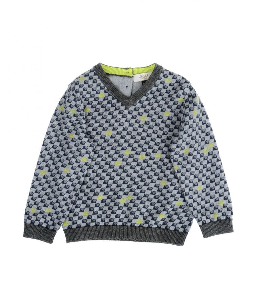 Image for KNITWEAR Armani Junior Grey Boy Cotton