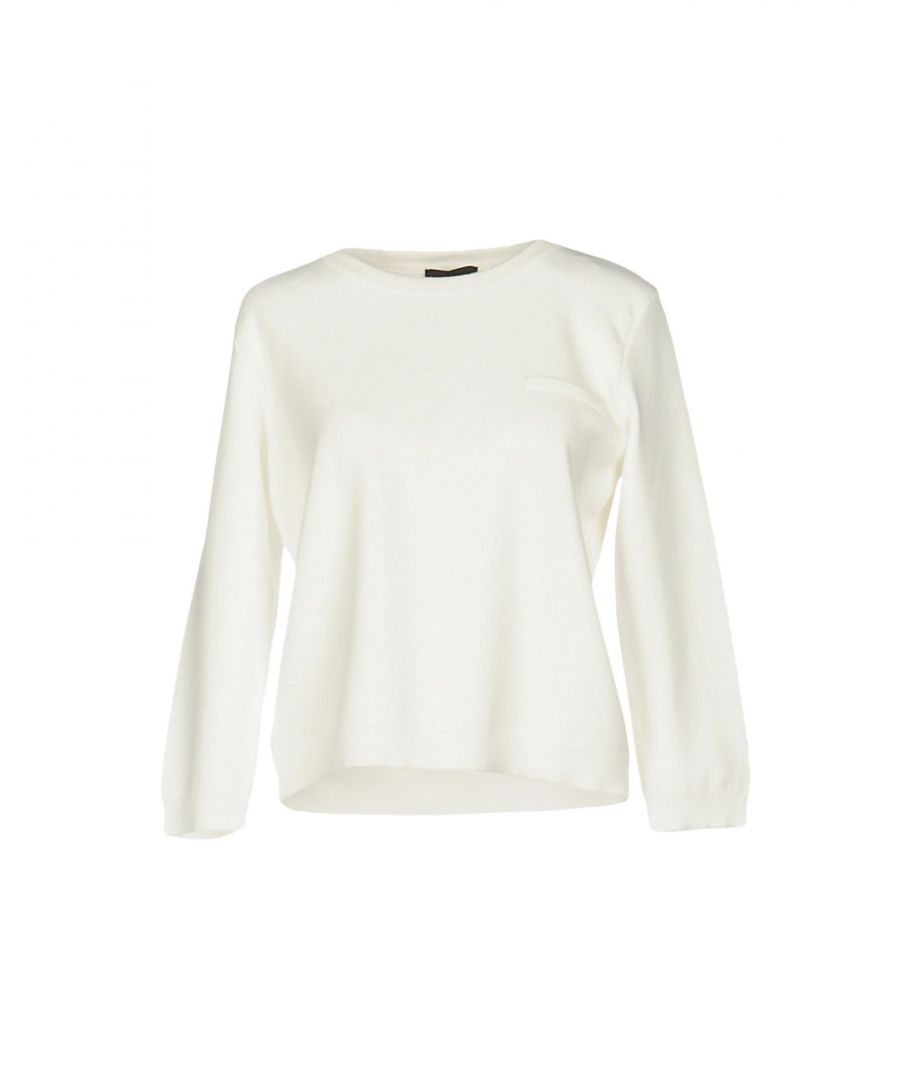 Image for Emporio Armani White Knit