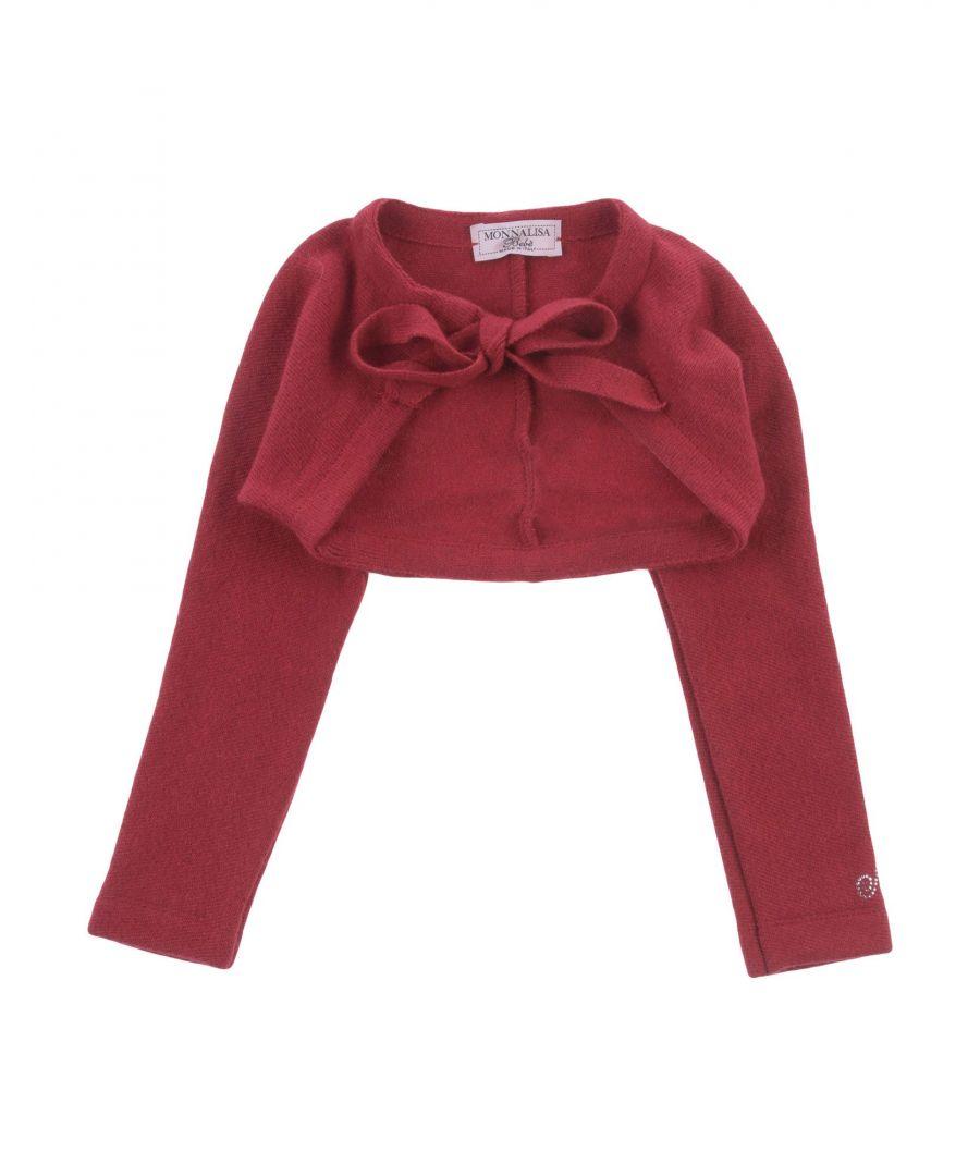 Image for Monnalisa Girl Wrap cardigans Maroon Cotton