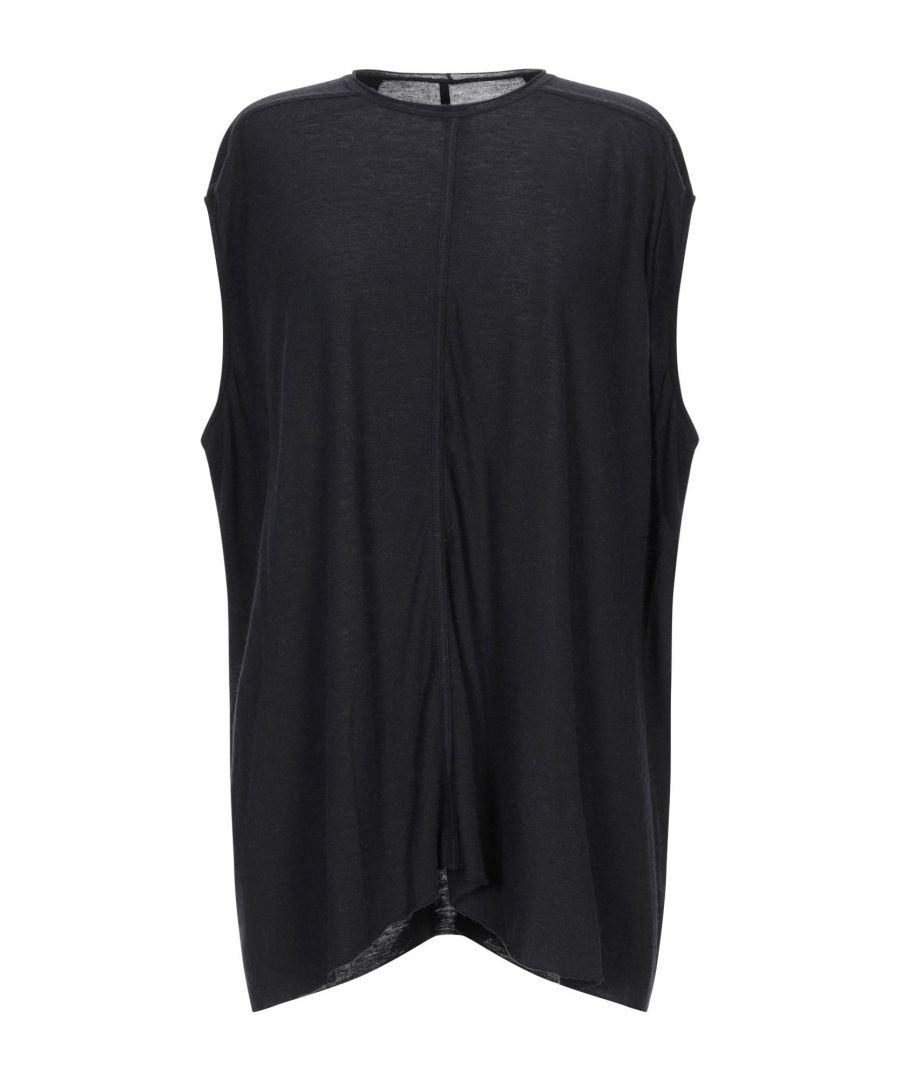 Image for Rick Owens Lilies Black Lightweight Sleeveless Knit