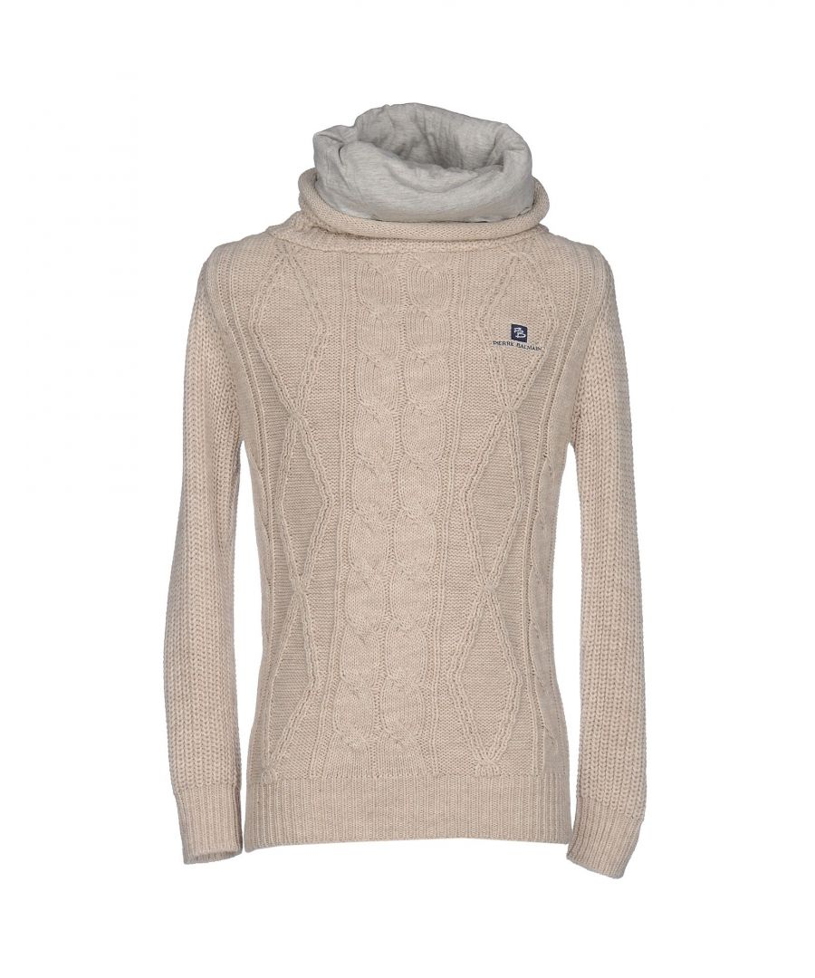Image for Pierre Balmain Beige Wool Knit Jumper