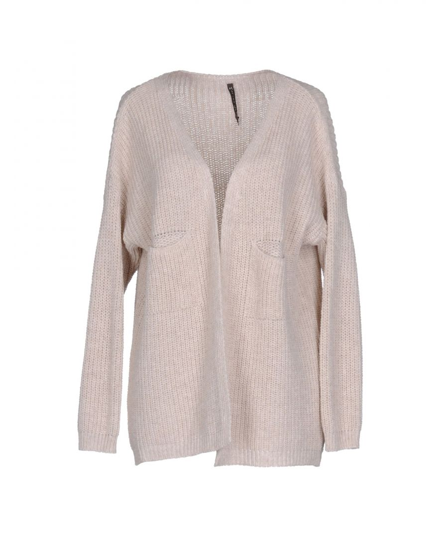 Image for Manila Grace Beige Wool Cardigan
