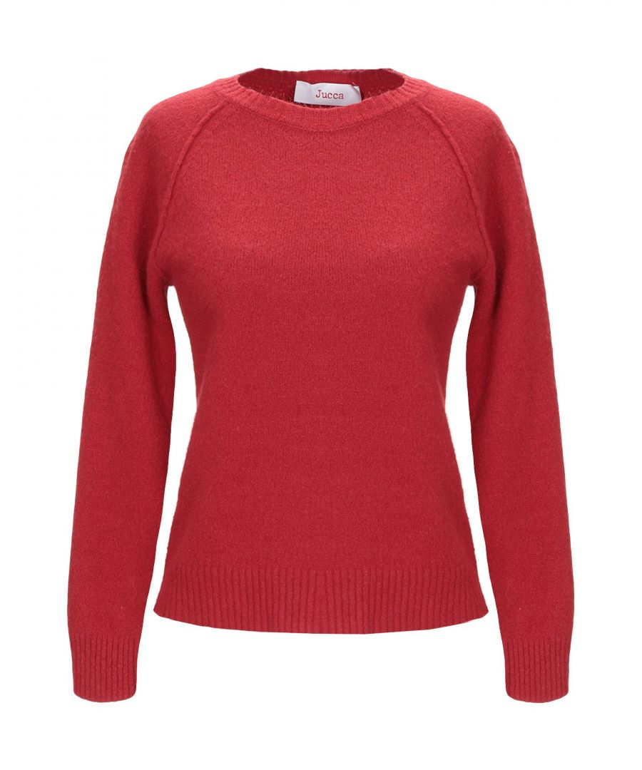 Image for Jucca Brick Red Wool Jumper
