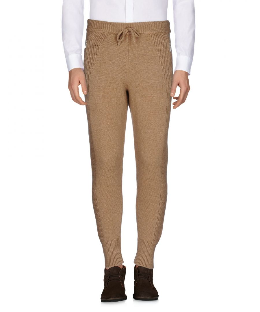 Image for Dsquared2 Camel Wool Knit Joggers