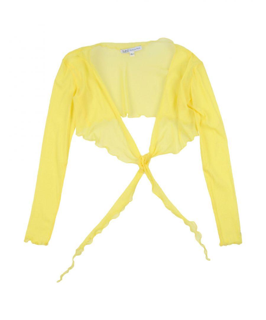 Image for KNITWEAR Patrizia Pepe Yellow Girl Nylon