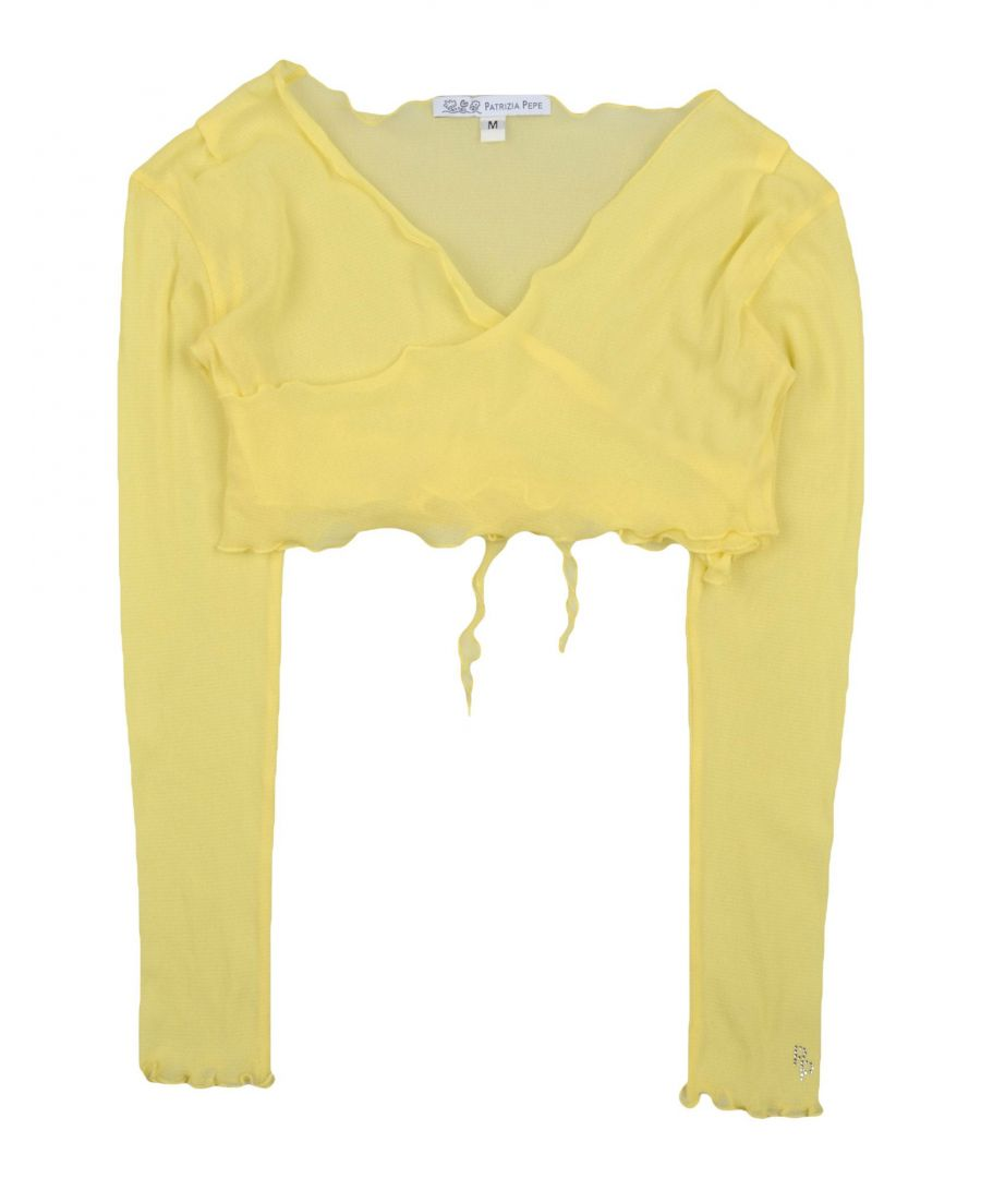 Image for KNITWEAR Patrizia Pepe Yellow Girl Nylon