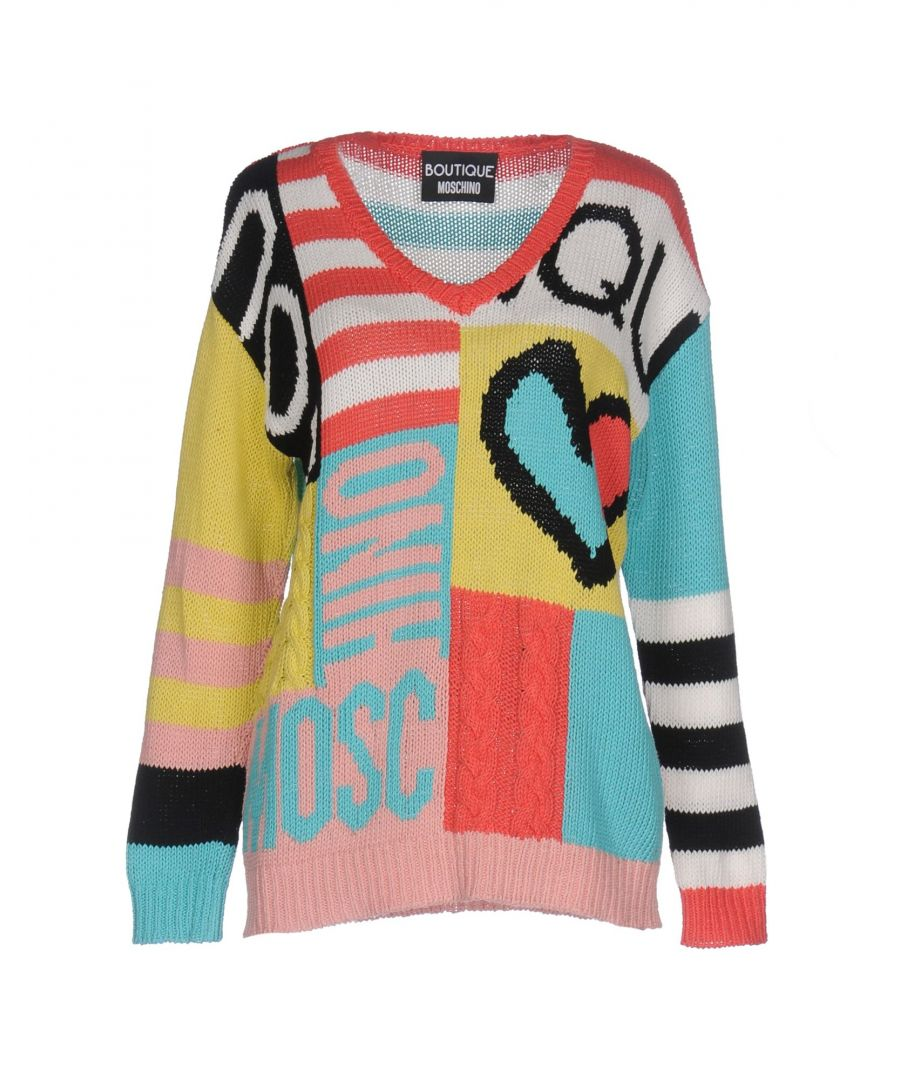 Image for Boutique Moschino Multicolour Cotton Knit Jumper