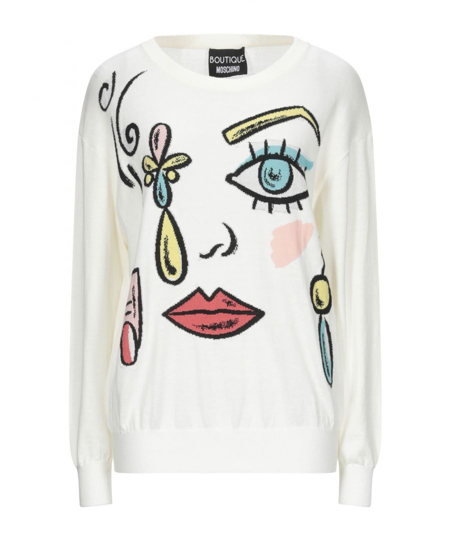 Image for Boutique Moschino White Virgin Wool Jumper